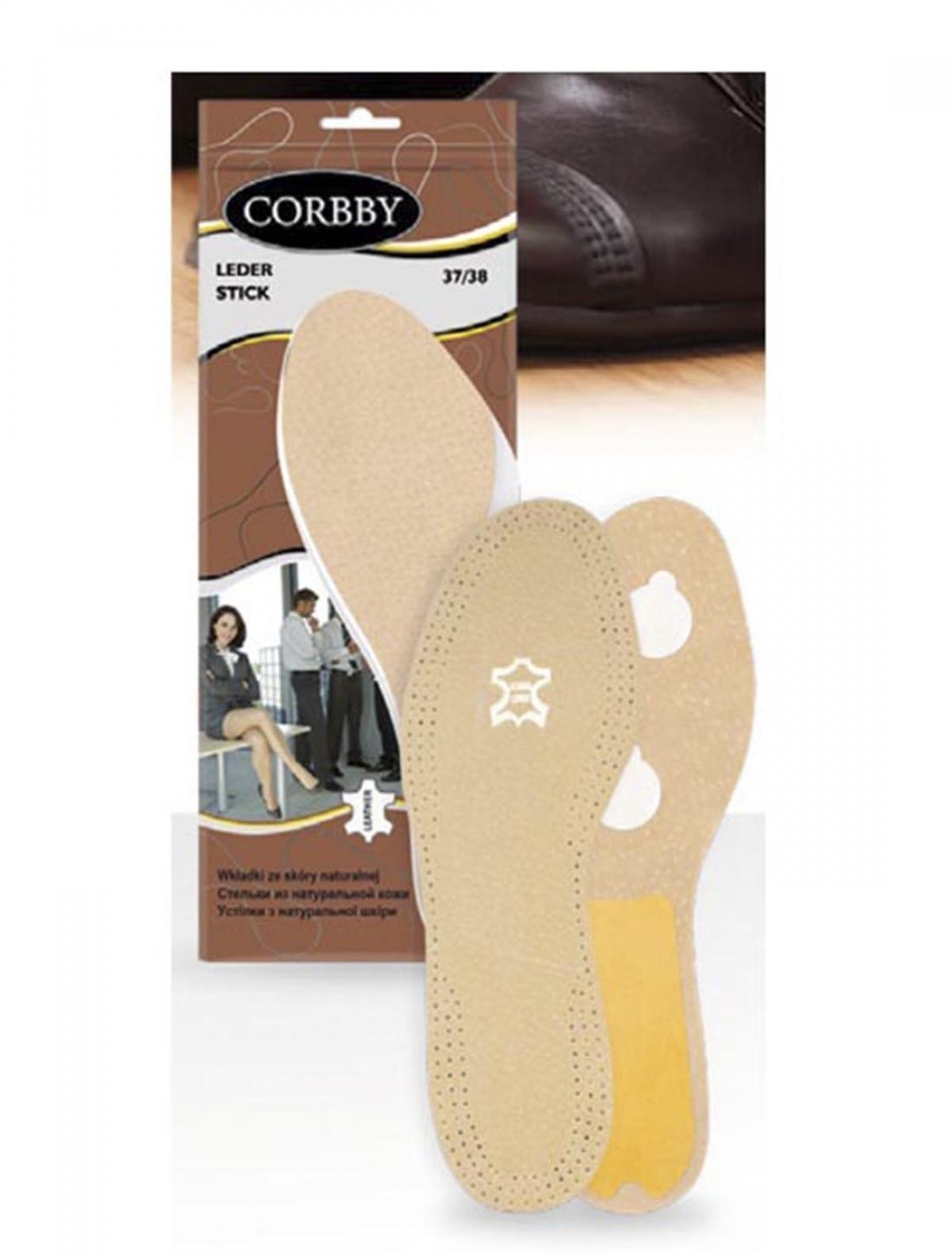 Corbby 1051C стельки LEDER