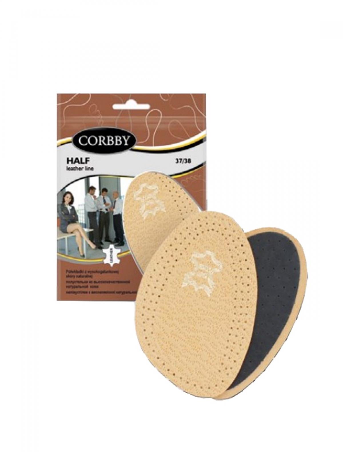 Corbby 1074C полустельки бежевый