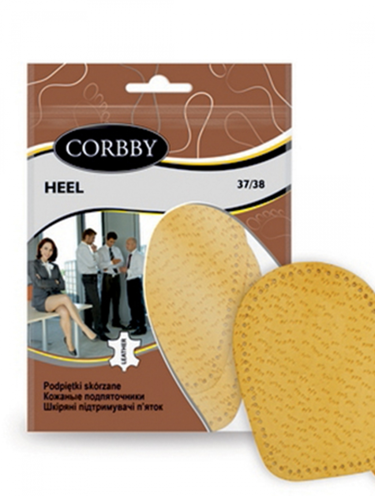 Corbby 1401C подпяточники женские