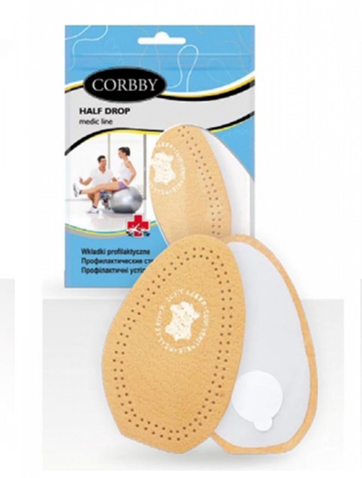 Corbby 1614C полустельки бежевый