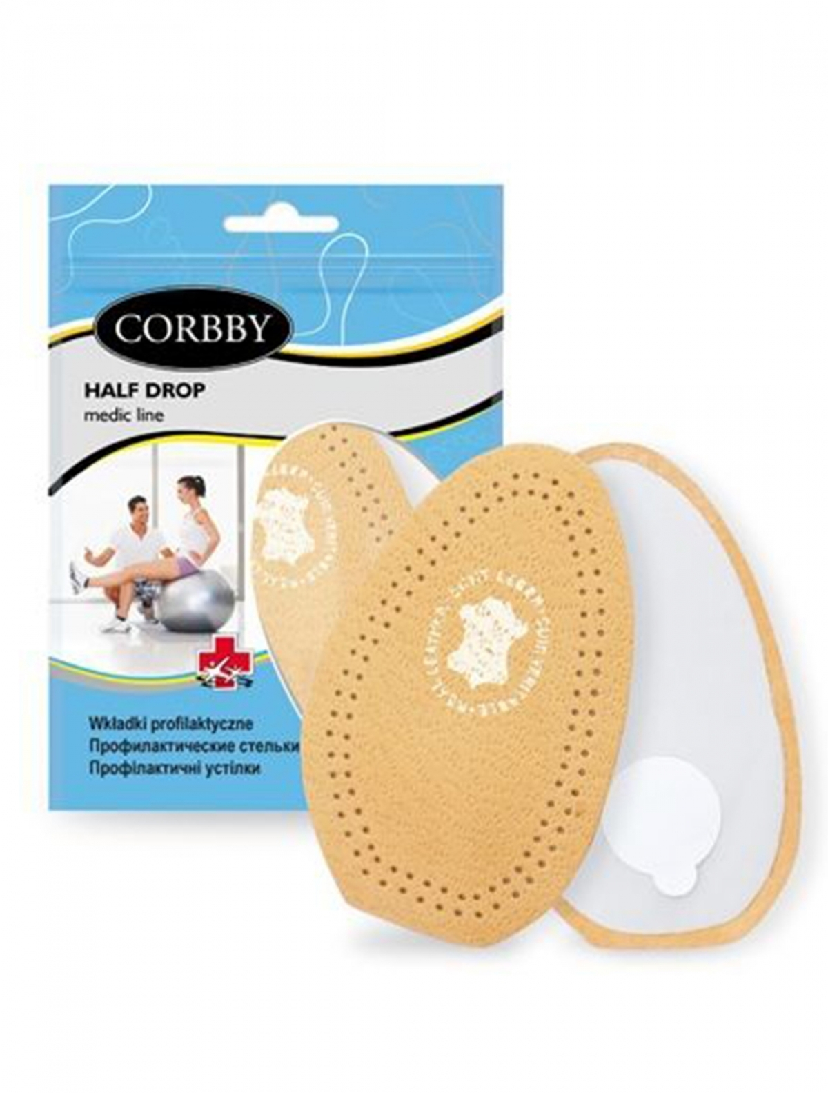 Corbby 1613C полустелька кож