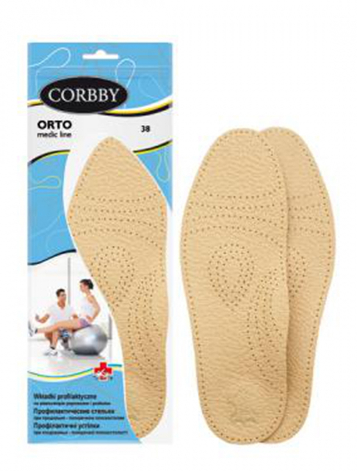 Corbby 1774С стельки ортопедические