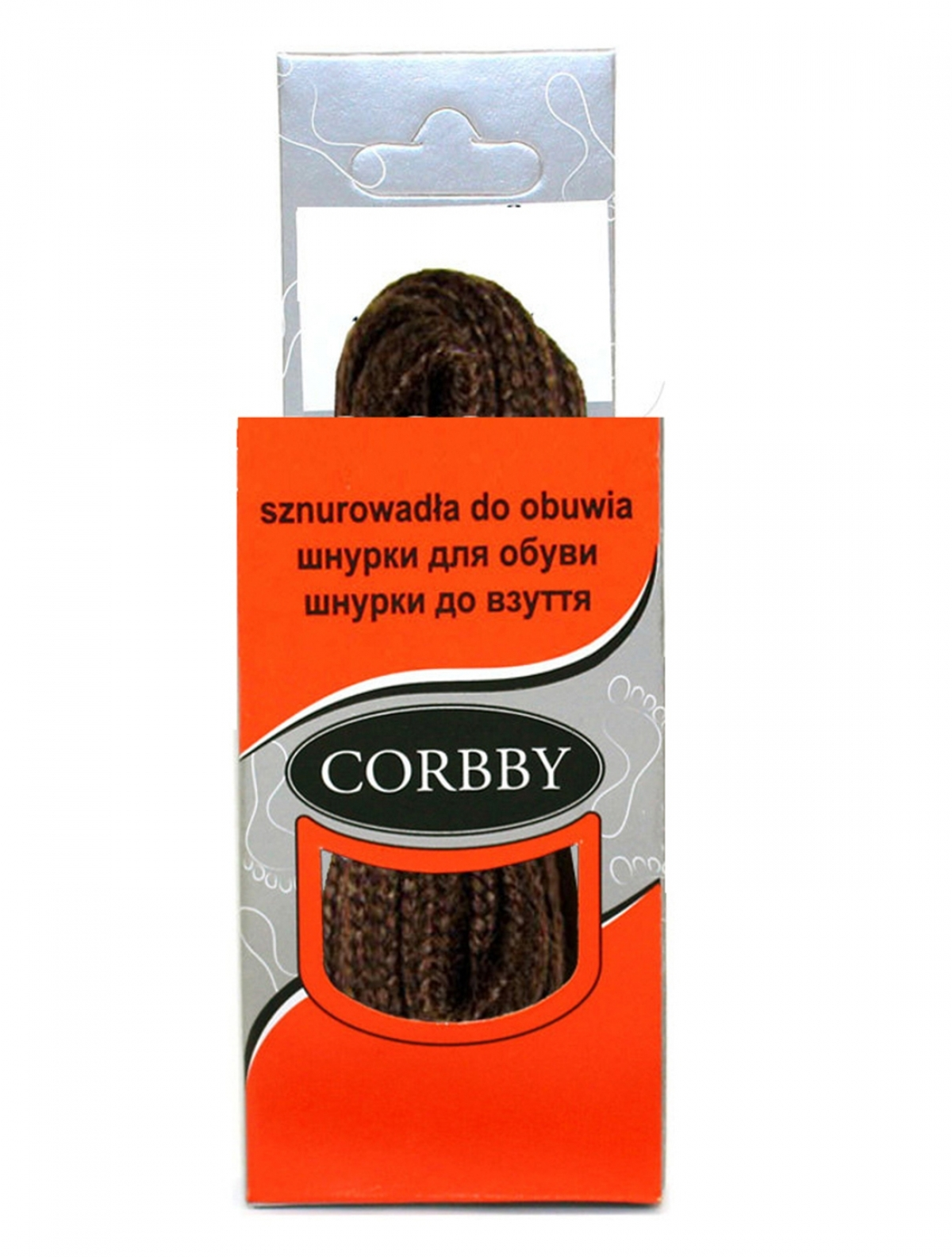Corbby 5203C шнурки коричневый