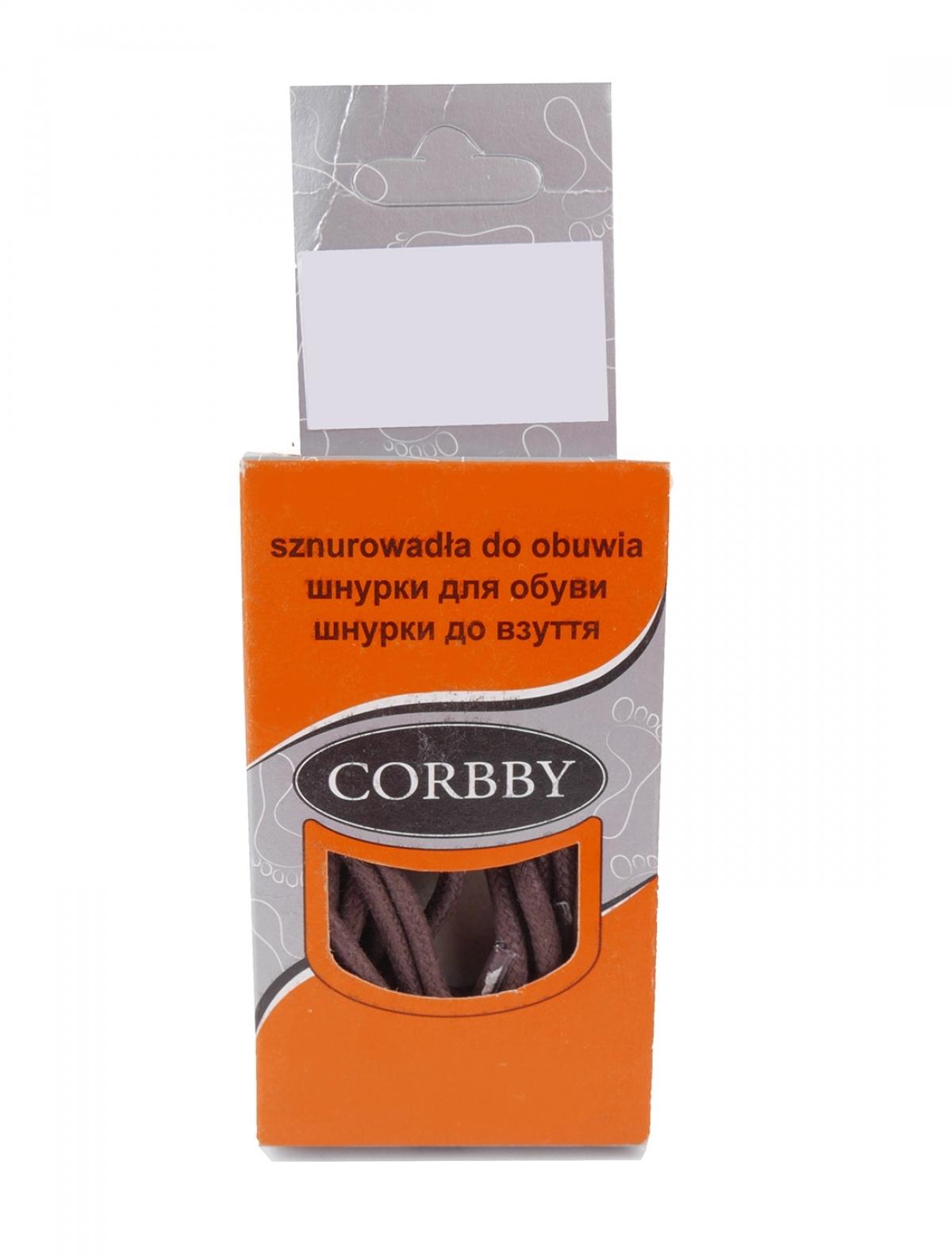 Corbby 5305C шнурки коричневый