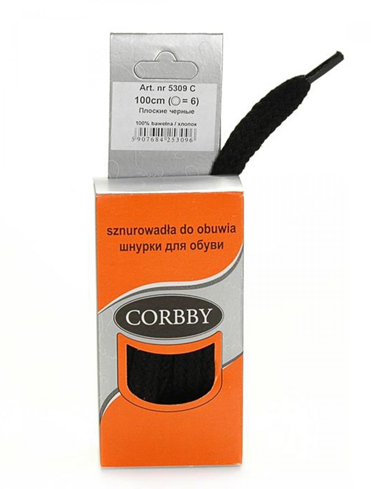 Corbby 5309C шнурки черный