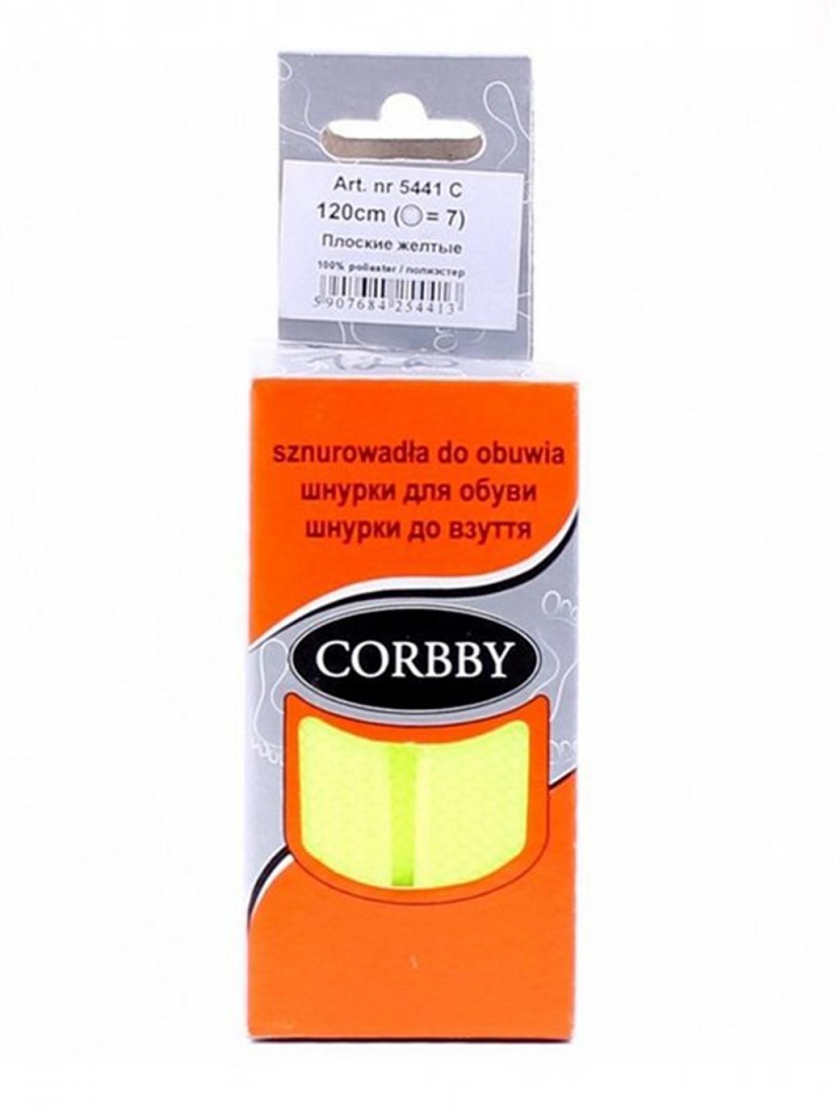 Corbby 5441C шнурки желтый