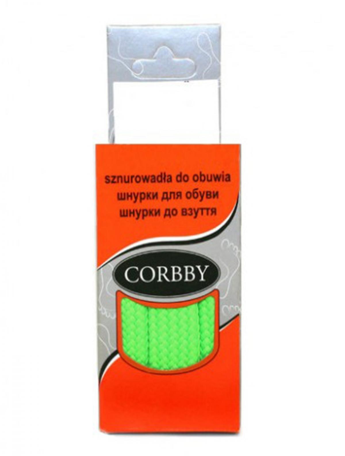 Corbby 5442C шнурки зеленый