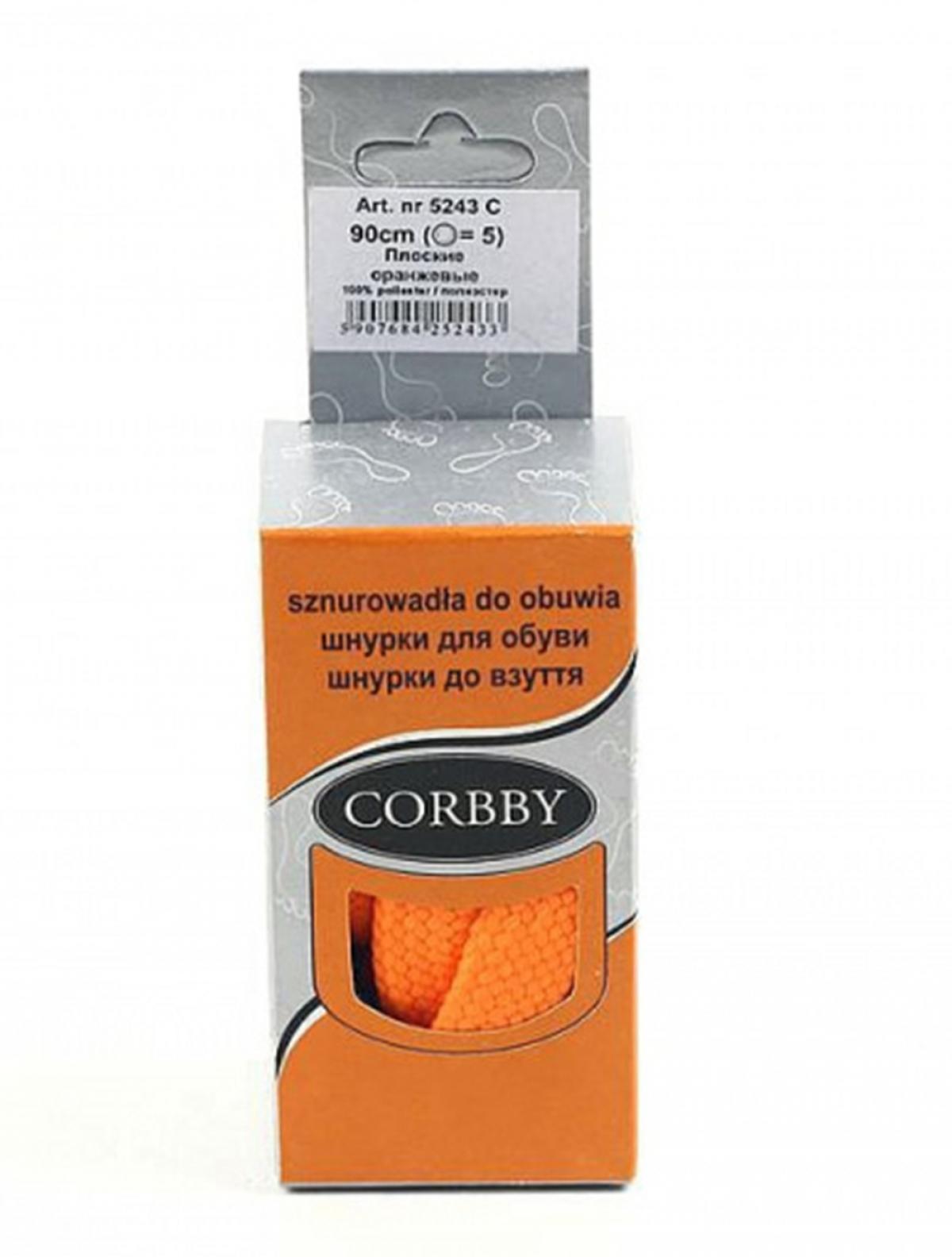 Corbby 5443C шнурки оранжевый