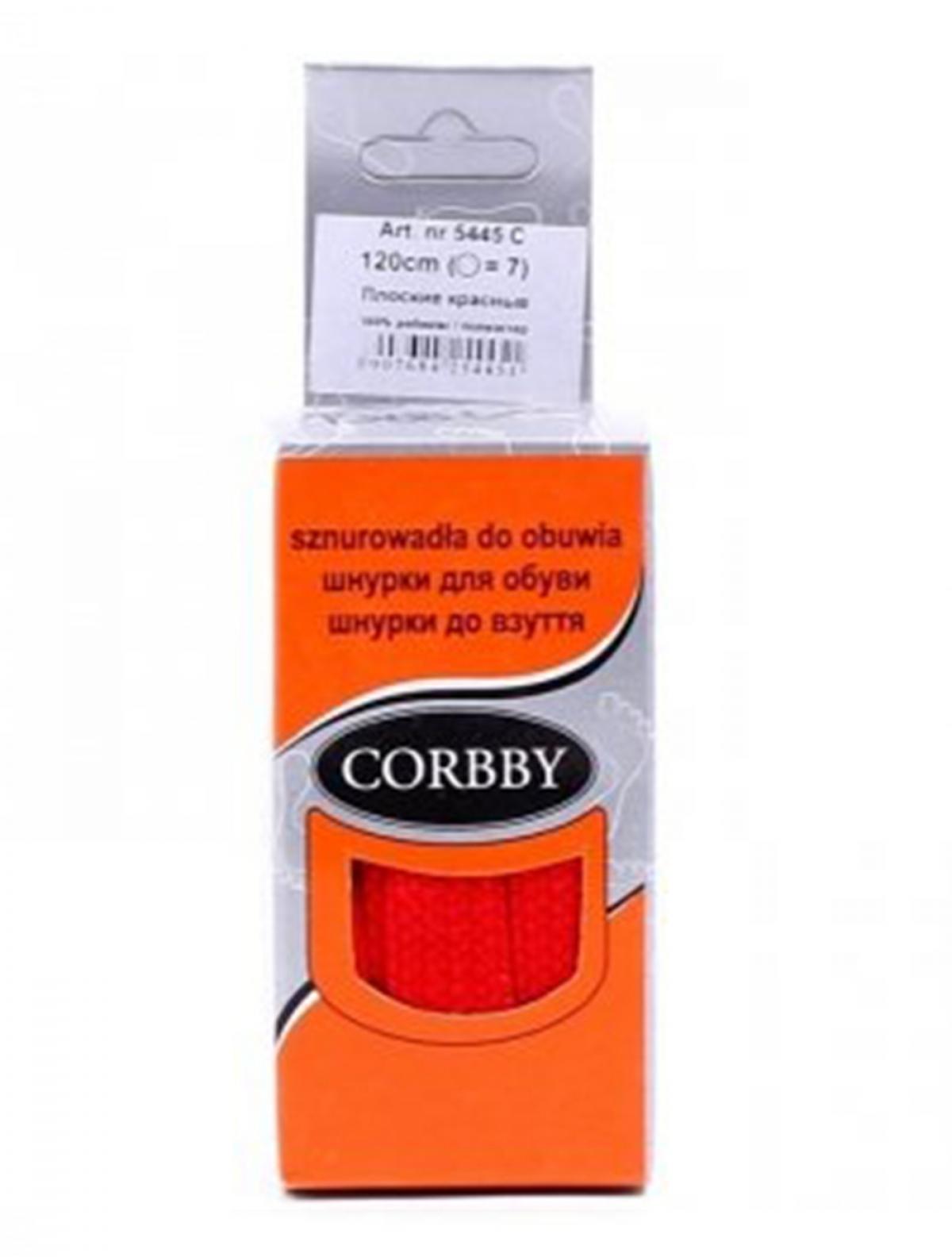 Corbby 5445C шнурки красный