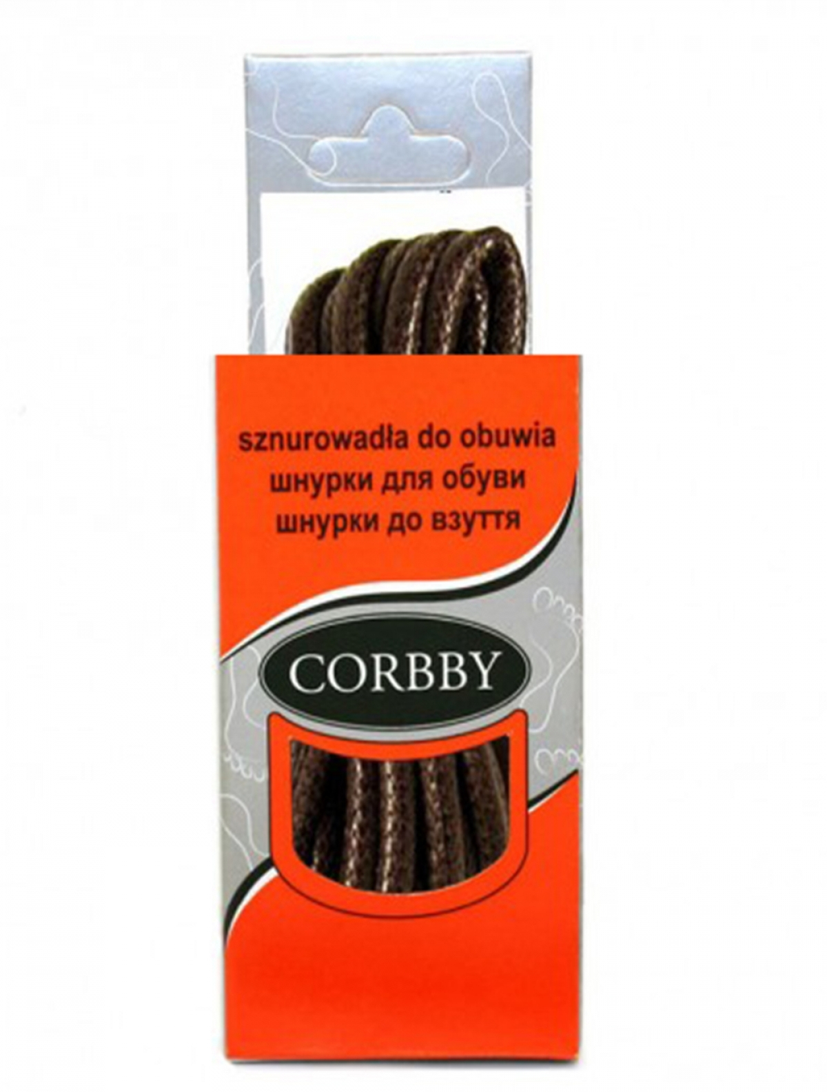 Corbby 5511C шнурки коричневый