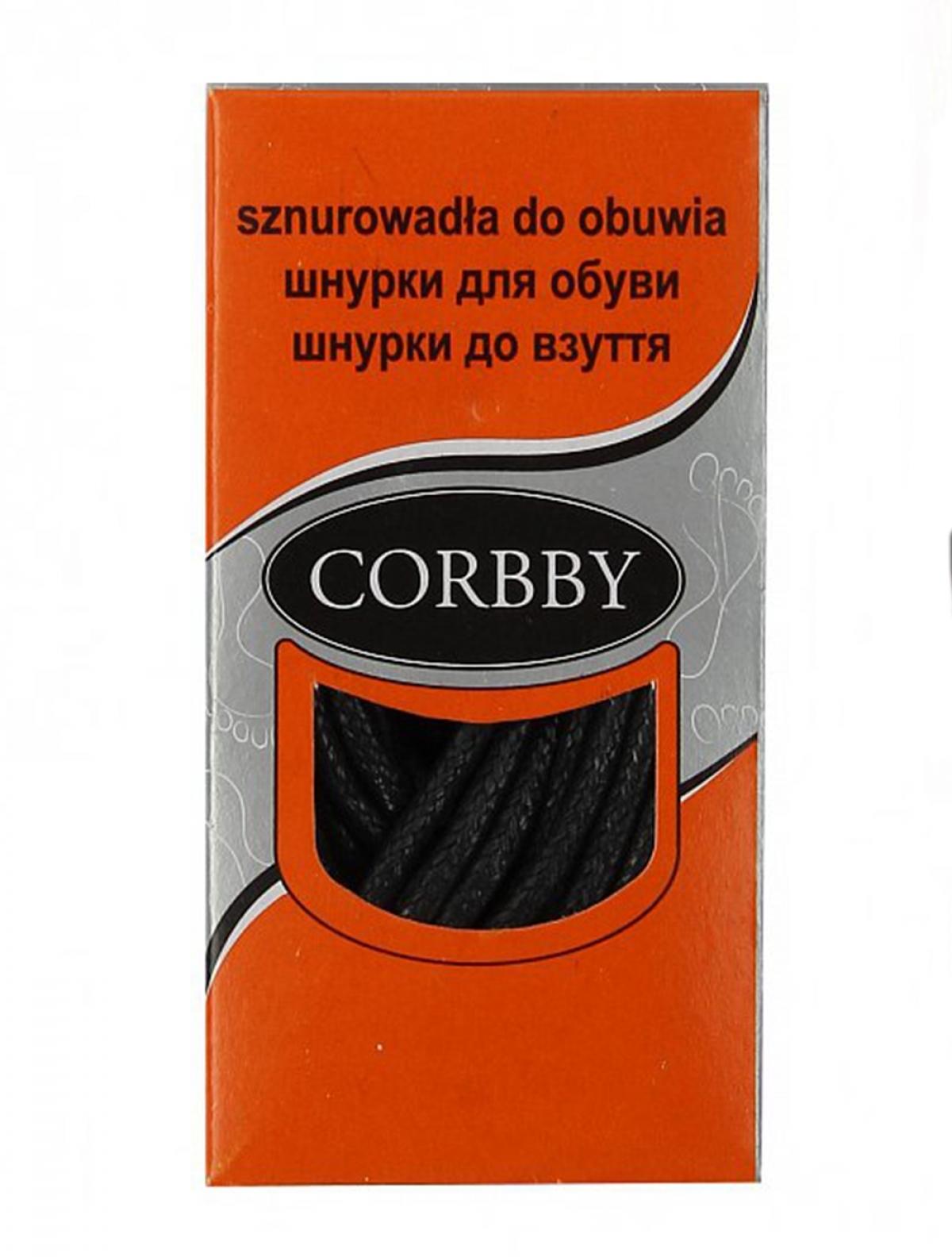Corbby 5604C шнурки черный