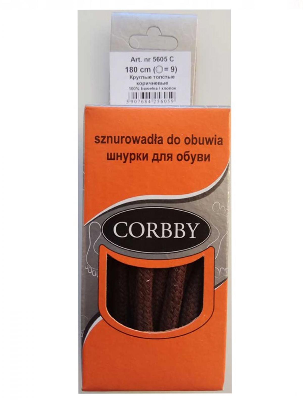 Corbby 5605C шнурки коричневый