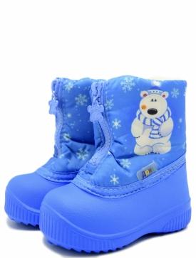 Дюна 566/01-14 детские сапоги голубой эва
