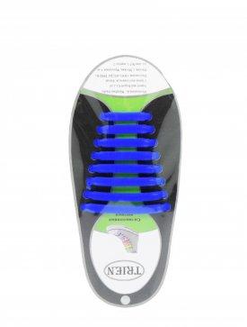 Trien SL-8-13 шнурки синий силикон