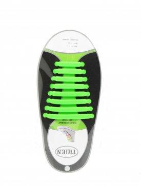 Trien SL-8-18 шнурки салатовый силикон