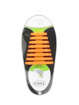 Trien SL-8-11 шнурки оранжевый силикон
